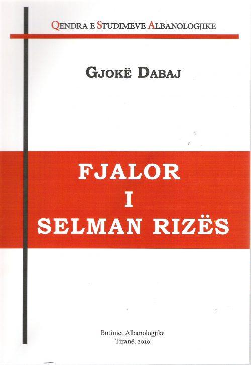 Fjalori i Selman Rizes