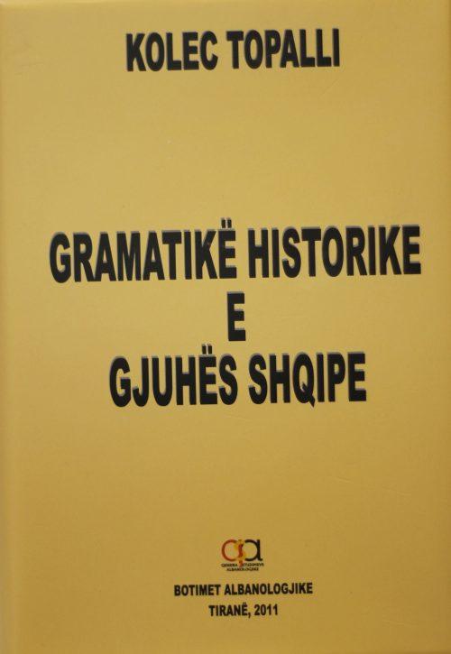 Gramatike historike e gjuhës shqipe