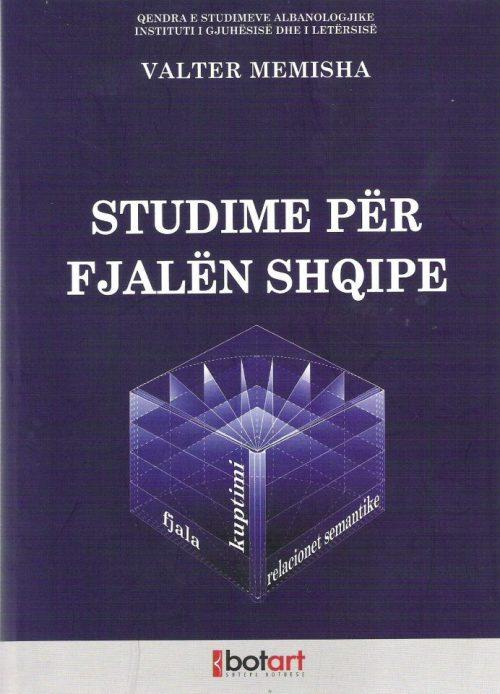 Studime për fjalën shqipe