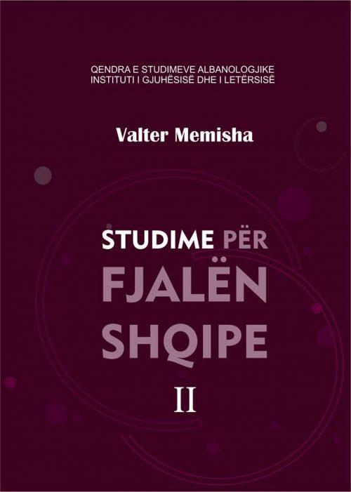 Studime për fjalën shqipe II