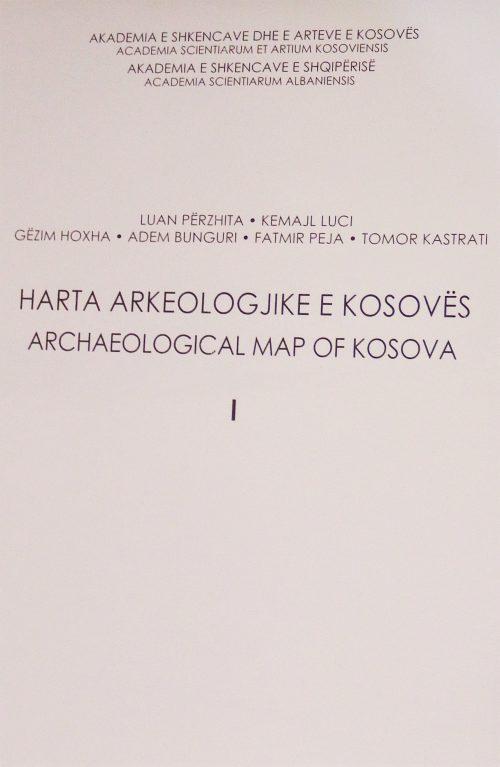 Harta Arkeologjike e Kosovës I