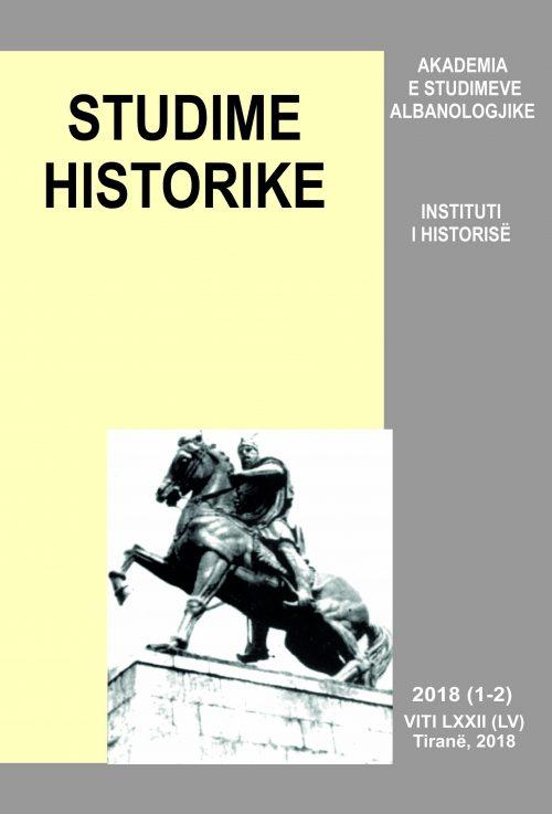 Kopertina–Studime Historike –1-2–2018–.cdr